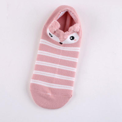 1Pair New Arrival Women Girls Animal Comfortable Cute Short Socks Soft Cotton Ankle Socks