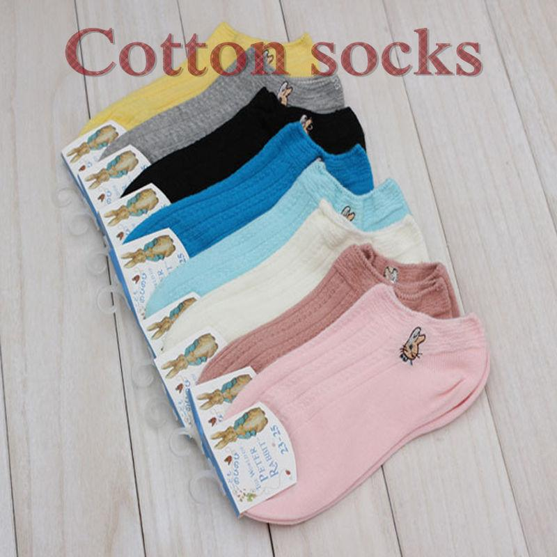 1 Pair New Candy Cotton Women Short Ankle Boat Low Cut Socks Crew Casual hot women accessories hot sale - Dailytechstudios