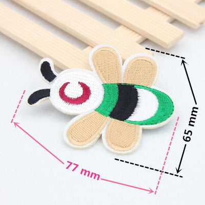 1pcs Many optional Bee patch Embroidery iron on patch Decoration Accessories Embroidered patch for clothing DIY costume Patches  UpCube- upcube