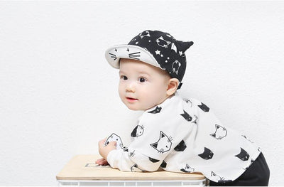 1 Piece Lytwtw's Cute Summer Newborn Baby Hat GirlS BoyS Baseball Cap Infant Cotton Unisex Toddlers Sun - Dailytechstudios