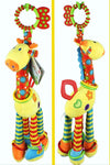 (46cm)Giraffe/rabbit Bed Bells Infant toy ultra long hanging giraffe Baby Toys rattle bed bells toys - Dailytechstudios