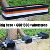 1 pcs adjustable silicone millstone whetstone base & double sides Knife knife sharpener sharpening stone Grinding stone clip - Dailytechstudios
