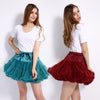 2017 Extra Fluffy Teenage Girl Adualt Women Pettiskirt Tutu Women Tutu Party Dance Adult Skirt Performance Cloth Skirts