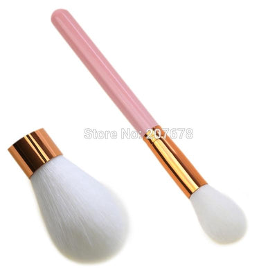 1 Piece Makeup Brushes Rose Gold Handle Powder Blush Contour Brushes Foundation Concealer Brush Tools - Dailytechstudios