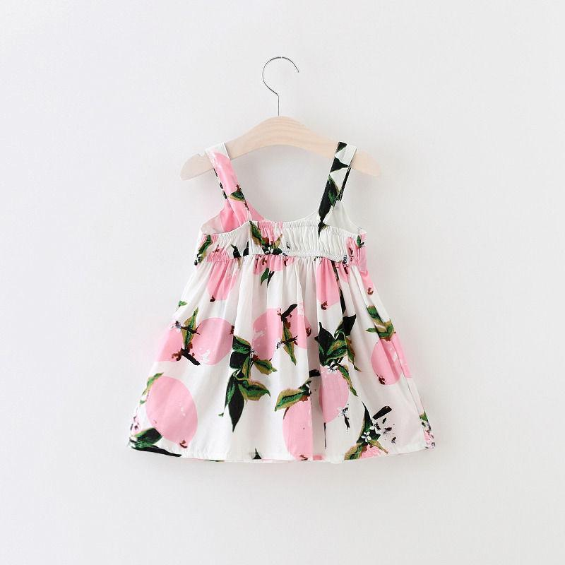 0-3Y Baby Girls Dress Summer Sleeveless Cute Bebes Bow Party Dress Little Princess Toddler Kids Clothes 2016 - Dailytechstudios