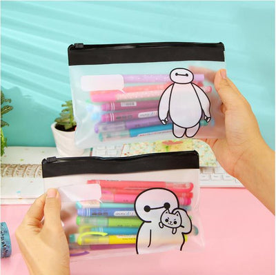 (1Pcs/Sell)PVC transparent Womens Travel Cosmetic Bags High Quality Makeup Bag Make Up Bag Neceser Luxury Brand Famous Brandsnew - Dailytechstudios