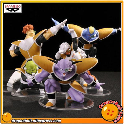 """Dragon Ball Z"" Original BANPRESTO DRAMATIC SHOWCASE 2nd season Collection Figure - Captain Ginyu Burter Jeice Recoom Guldo - Dailytechstudios"