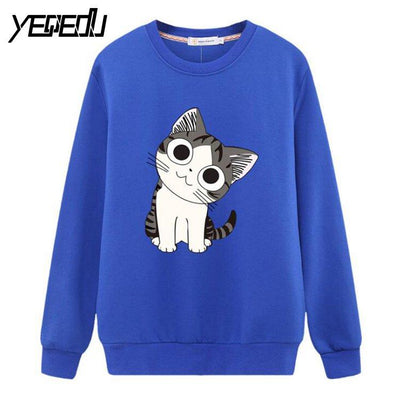 #0818 2017 Anime sweatshirt women Moletom feminino Fashion Cotton Loose 4XL Pullover women Fashion Streetwear sweatshirt - Dailytechstudios