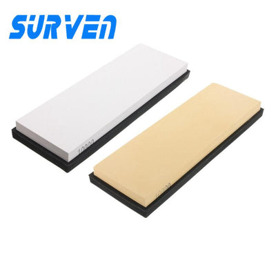 10000#Knife Honing Sharpener Sharpening Stone Grindstone with Base Knife Sharpener Sharpening Grinding Stone Corundum Whetstone