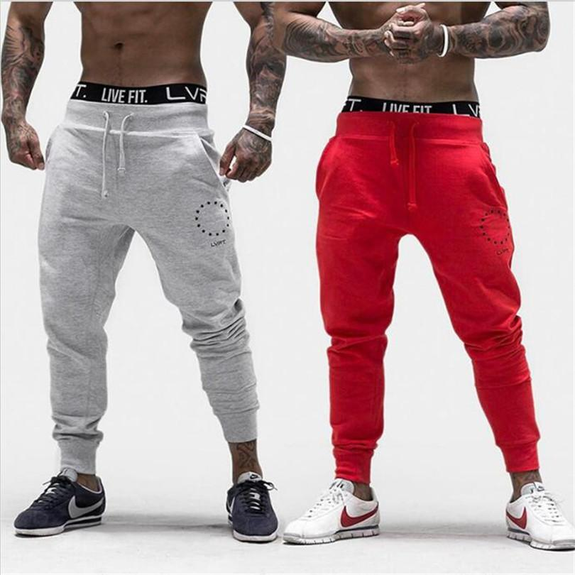 2017 autumn winter new men cotton Brand Sweatpants Casual fashion trousers male gyms Fitness Bodybuilding workout Pencil Pants  dailytechstudios- upcube