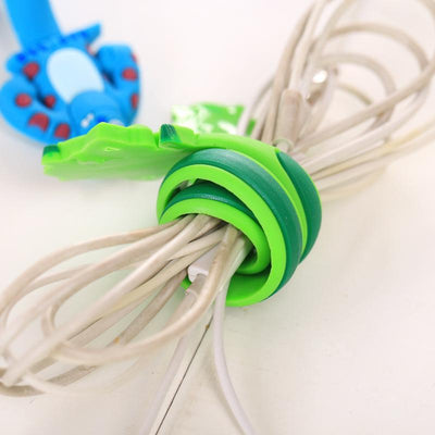1PCS Practical Creative Cartoon Animal Headphone Bobbin Clip Multi-function Coil Winder Holder Home Office Storage Organization  UpCube- upcube
