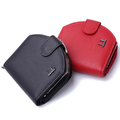2017 Genuine Leather Wallet Women Wallets and Woman Short Purses Designer Small Coin Clutch Bag Purse Card Holder Card Pack Z150  UpCube- upcube