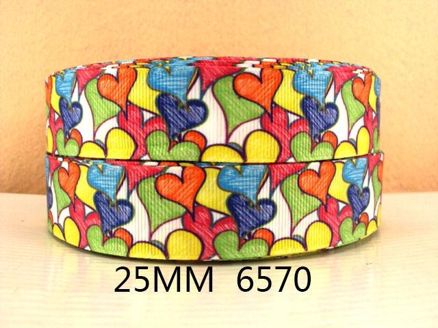 (5yds per roll) 5Y6570 david ribbon 1 '' grosgrain ribbon printed ribbon free shipping - Dailytechstudios