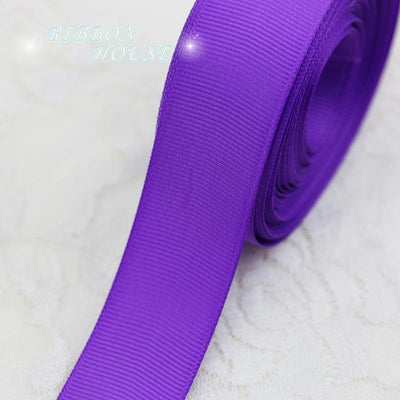"(5 meters/lot) 1"" (25mm) Purple Grosgrain Ribbon Wholesale gift wrap Christmas decoration ribbons - Dailytechstudios"