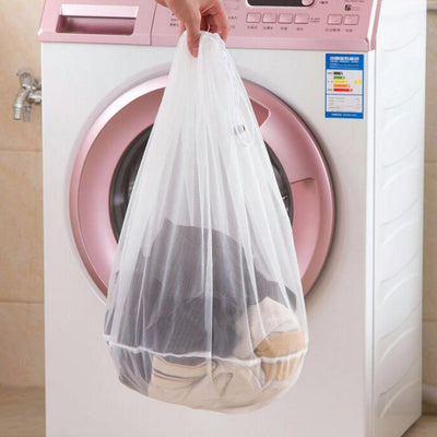 1 PCS 3 sizes Mesh Laundry Wash Bags Foldable Delicates Lingerie Bra Socks Underwear Washing Machine Clothes Protection Net - Dailytechstudios