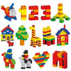 1000 Pieces Building Blocks DIY Kids Creative Bricks Brinquedos Toys for Children Compatible with Legoe City All Brands Blocks