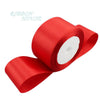 (25 yards/roll) Red Single Face Satin Ribbon Wholesale Gift Wrapping Christmas ribbons - Dailytechstudios