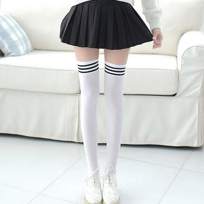 1 Pair Fashion Thigh High Over Knee High Socks Girls Womens New Y90130 - Dailytechstudios