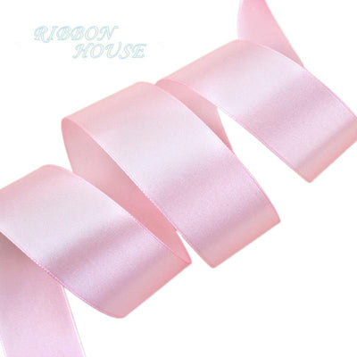 (25 yards/roll) Pink Single Face Satin Ribbon Wholesale Gift Wrapping Christmas ribbons - Dailytechstudios