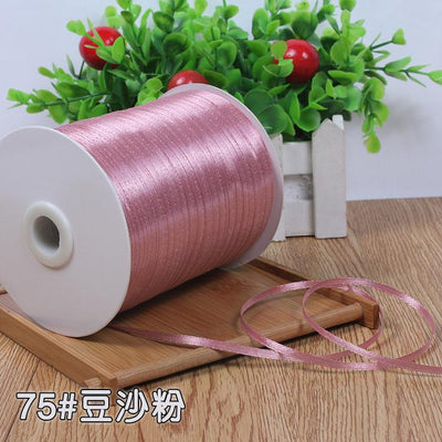 "(10meters) 1/8""3mm Multi Colors Option Satin Ribbon Gift Packing Christmas Ribbons Wedding Party Decorative DIY Crafts supplies - Dailytechstudios"
