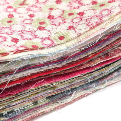 100pcs Mixed Pattern Colorful Square Floral Cotton Fabric Patchwork Sewing Cloth For DIY Craft 10x10cm Home Supplies  UpCube- upcube