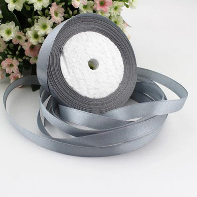 (25 yards/roll) 10mm Single Face Satin Ribbon Webbing Decaration Gift Christmas Ribbons - Dailytechstudios