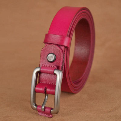 Best YBT Boys leather belt Boy student Alloy buckle Belt Jeans Imitation Leather Belt Strap Pin Buckle Teens Children Kids Belt  UpCube- upcube