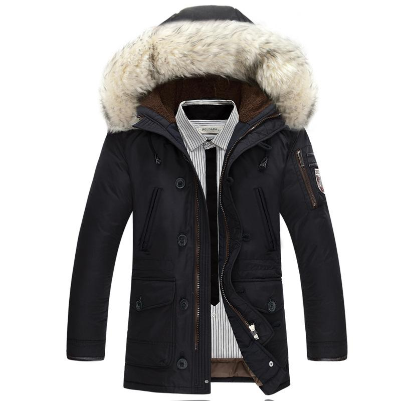 2017 New Men Duck Down Coat Winter Jacket Parkas Mans Brand Clothing Rabbit Fur Parka Jackets Mens Roupas Feminina Down Jackets  dailytechstudios- upcube
