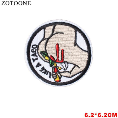 1PCS Pokemon Letter Rainbow Patch Fish Cheap Embroidered Cute Patches Kids Iron On Cartoon Patches For Clothing Jeans DIY Badges  UpCube- upcube