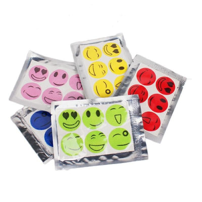 1000set 6pcs/set Hot Mosquito Repellent Patch Smiling Face Drive Midge Mosquito Killer Anti Mosquito Repeller Sticker ZA0937  UpCube- upcube
