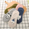 1 Pair Lovely Women Socks Summer Ears Cartoon Animal Cotton Sock For Girls Creative Cute Soft Ankle Socks - Dailytechstudios