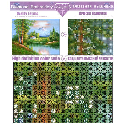 'sorcerer'5d diy round drill diamond painting cross stitch diamond embroidery mosaic full pictures of rhinestones material LX - Dailytechstudios