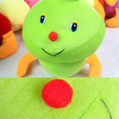 1pc 50cm Lovely Caterpillars Plush Toy Soft Plush Caterpillar Hold Pillow Doll Toys For Children Baby Kids Plush Peluche Cushion  UpCube- upcube