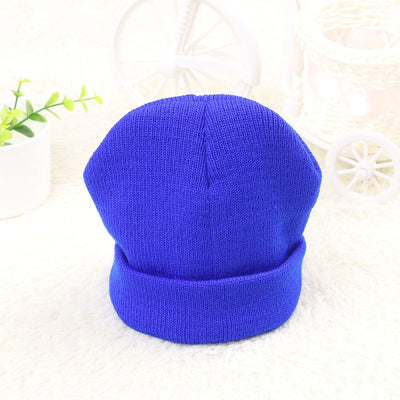 1PCS New Fashion Cute Unisex Lovely Kids Hat Beanie Soft Hat Winter Spring Boys Girls Warm Kids Knitted Crochet Cap  UpCube- upcube