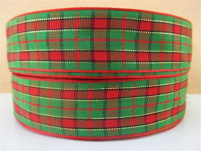 (5yds per roll) 1''(25mm) Scottish high quality printed polyester ribbon, DIY handmade materials, wedding gift wrap,5Yc1351 - Dailytechstudios