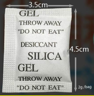 1000pcs/lot Silica Gel Desiccant Moisture Absorber 1g/bag Desiccant Gel Packs Silica Gel Desiccant Reusable Free Shipping  UpCube- upcube