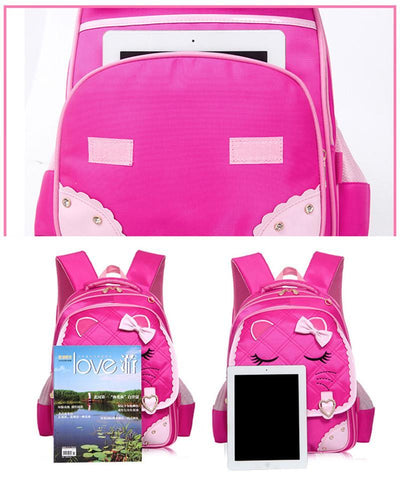 2017 Girls School Bags Children Backpack Primary Bookbag Orthopedic Princess Schoolbags Mochila Infantil sac a dos enfant  upcubeshop- upcube