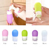 1pc 38ml Empty Silicone Travel Packing Press Bottle For Lotion Shampoo Bath Container Portable Bottle P20  UpCube- upcube