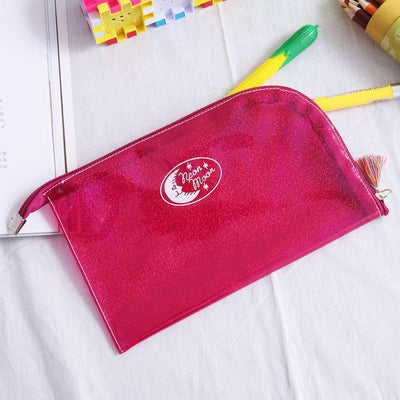 (1pc/sell) Envelope Moon Star Point Womens Travel Cosmetic Bags High Quality Makeup Bag Make Up Bag Neceser Luxury Famous Brands - Dailytechstudios