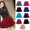 2016 New Arrival Women Skirt Sexy Mini Short Skirt Fall Skirts Womens Stretch High Waist Pleated Tutu Skirt