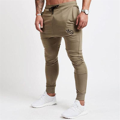 2017 Autumn New Mens Gyms Fitness Sweatpants Pant Male Bodybuilding Workout Casual Elastic Cotton Brand Trousers Joggers Pants