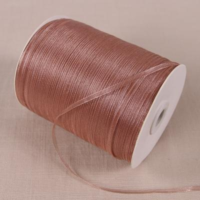 (20 yards/lot) 1/8''(3mm) organza ribbons wholesale gift wedding Christmas decoration wrapping ribbons - Dailytechstudios