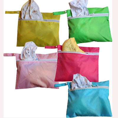 1pc Baby Stroller Organizer Hanging Bag Portable Candy Color Storage Stroller Bag Outdoor baby Clothing Bags LA679837  UpCube- upcube