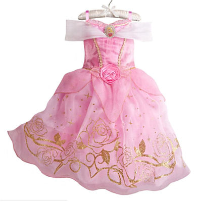 2017 Girls Dress Cinderella Costume for Kids Rapunzel Belle Sofia Princess Dress Children Party Dress Cosplay Costume Vestidos  UpCube- upcube