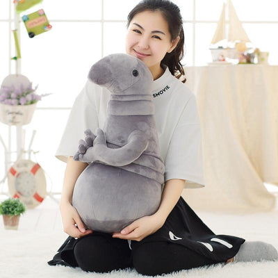 1pc 20cm Hot Russia Waiting Plush Toy Zhdun Meme Tubby Gray Blob Zhdun Toy Snorp Homunculus Loxodontus Zjhdun Toy Plush  UpCube- upcube