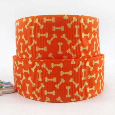 "(5yds per roll) 1""(25mm) dog high quality printed polyester ribbon 5 yards,DIY handmade materials,wedding gift wrap,5Yc432 - Dailytechstudios"