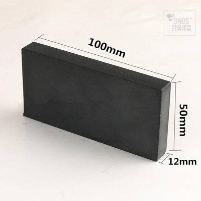 BNBS Natural sharpener whetstone stone terrazzo knife sharpening Black Gem oilstone wholesale customization size Free Shipping  upcube- upcube