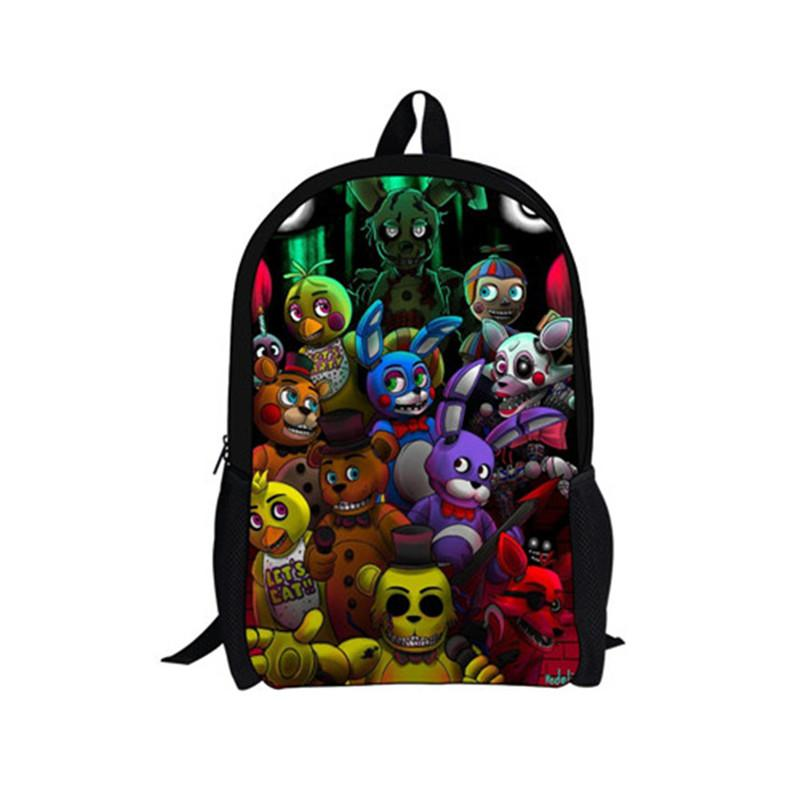 0c1bd0723eff FORUDESIGNS Teenager Boys Girls Cartoon Gravity Falls Backpacks