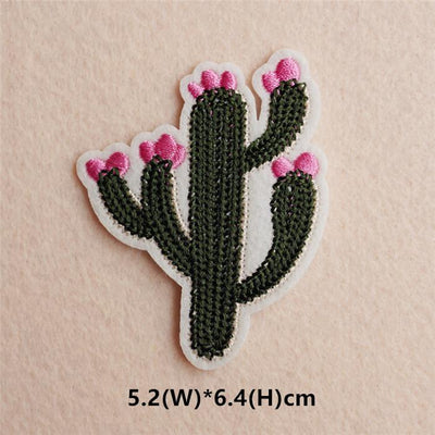 1pcs Mix Cactus Patch for Clothing Iron on Embroidered Sew Applique Cute Patch Fabric Badge Garment DIY Apparel Accessories 121#  UpCube- upcube