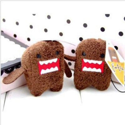 1pcs Japan Anime Cute Plush Accessories Wedding Present Toys Domo KUN Plush Stuffed Small Pendant for Kids Birthday Gifts  UpCube- upcube